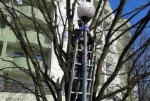 konserwacja kloszy z latarni