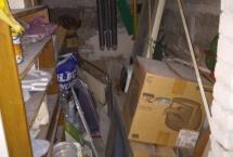sprzątanie piwnicy - przed