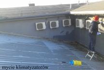 mycie klimatyzatorów