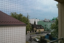 siatka zabezpieczająca balkon