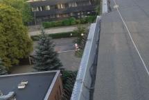 kolce na dachu